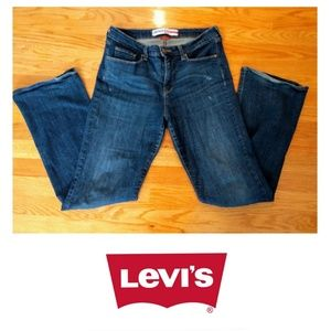 Levi's Denizen Totally Shaping Bootcut Jeans sz 14